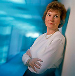 Jean Blomberg, Senior VP of Executive Banking Division, Silicon Valley Bank: Executive portrait photographs by San Francisco - corporate and annual report - photographer Robert Houser.