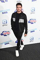 Jonas Blue<br /> poses on the media line before performing at the Summertime Ball 2019 at Wembley Arena, London<br /> <br /> ©Ash Knotek  D3506  08/06/2019