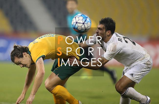 Jordan vs Australia during the AFC U23 Championship 2016 Group D match on January 20, 2016 at the Suhaim Bin Hamad Stadium in Doha, Qatar. Photo by Osama Faisal/Lagardère Sports