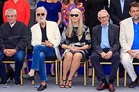 Claude LELOUCH, Michael HANEKE, Jane CAMPION, Ken LOACH, Nanni MORETTI - PHOTOCALL DES PERSONNALITES AU 70EME ANNIVERSAIRE DU FESTIVAL DU FILM CANNES
