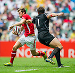Canada play Wales in the Cup Quarter Final on Day 3 of the Cathay Pacific / HSBC Hong Kong Sevens 2013 on 24 March 2013 at Hong Kong Stadium, Hong Kong. Photo by Xaume Olleros / The Power of Sport Images