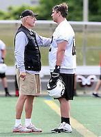 Mike Gibson Ottawa RedBlacks coach 2014. Photo Scott Grant