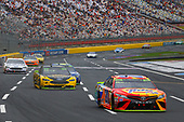 Monster Energy NASCAR Cup Series<br /> Bank of America 500<br /> Charlotte Motor Speedway, Concord, NC<br /> Sunday 8 October 2017<br /> Matt Kenseth, Joe Gibbs Racing, Tide Pods Toyota Camry and Brad Keselowski, Team Penske, Alliance Truck Parts Ford Fusion<br /> World Copyright: Russell LaBounty<br /> LAT Images