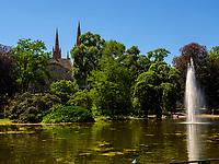 Park Warmer Damm, Wiesbaden, Hessen, Deutschland, Europa<br /> Park Warmer Damm, Wiesbaden, Hesse, Germany, Europe