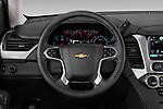 Car pictures of steering wheel view of a 2019 Chevrolet Tahoe LS 5 Door SUV