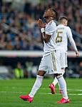 Real Madrid CF's Vinicius Jr  reacts during quarterfinal Copa del Rey match. Feb 06, 2020. (ALTERPHOTOS/Manu R.B.)