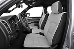 Front seat view of 2021 Ram 1500 Big-Horn 4 Door Pick-up Front Seat  car photos