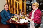 Jimmy and Denise O'Sullivan from Abbeydorney enjoying the evening in the Imperial Hotel on Saturday.