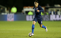 Cary, N.C. - Tuesday March 27, 2018: Marco Delgado during an International friendly game between the men's national teams of the United States (USA) and Paraguay (PAR) at Sahlen's Stadium at WakeMed Soccer Park.