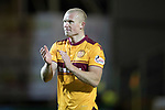 Motherwell v St Johnstone…06.02.18…  Fir Park…  SPFL<br />Curtis Main applauds th fans as he is subbed<br />Picture by Graeme Hart. <br />Copyright Perthshire Picture Agency<br />Tel: 01738 623350  Mobile: 07990 594431