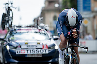 Tim Merlier (BEL/Alpecin-Fenix)<br /> <br /> 104th Giro d'Italia 2021 (2.UWT)<br /> Stage 1 (ITT) from Turin to Turin (8.6 km)<br /> <br /> ©kramon