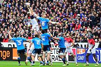 Paul Jedrasiak ( France ) - Sergio Parisse ( Italie ) <br /> Parigi Saint Denis 06-02-2016 Rugby Trofeo 6 Nazioni 2016 Francia Italia Foto Pestellini/Panoramic/Insidefoto