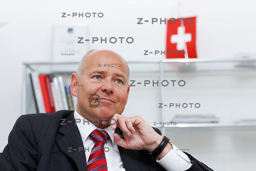 Portrait und Interview mit Morten Hannesbo Chef der Amag, AMAG Automobil- und Motoren AG im Hauptsitz am Utoquai 49, am Freitag 25.05.12 <br /> <br /> Copyright © Zvonimir Pisonic