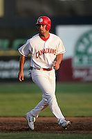 July 11 2009: Kent Walton of the Vancouver Canadians during game against the Boise Hawks at Nat Bailey Stadium in Vancouver,BC..Photo by Larry Goren/Four Seam Images
