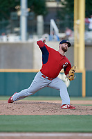 Springfield Cardinals pitcher John Fasola (30) during a Texas League game against the Frisco RoughRiders on May 5, 2019 at Dr Pepper Ballpark in Frisco, Texas.  (Mike Augustin/Four Seam Images)