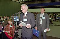 Montreal (qc) CANADA - file Photo - 1992 - <br /> Union des Municipalites du Quebec convention in April  - Paul Leduc, Mayor of Brossard
