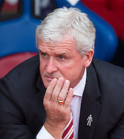 during the Premier League match between Crystal Palace and Stoke City at Selhurst Park, London, England on 18 September 2016. Photo by Andy Rowland / PRiME Media Images.