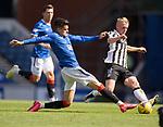 Rangers v St Mirren: Ianis Hagi and Cammy MacPherson