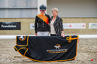 Para Equestrian - Champion: Natalie James (Zee Bee). 2021 NZL-Equestrian Entries NZ Youth Dressage Festival. NEC Taupo. Sunday 31 January. Copyright Photo: Libby Law Photography