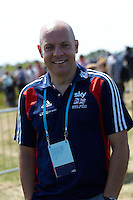 Dave Brailsford , London Prepares Mountain Bike Olympic Test Event , Hadleigh Farm , Essex , July 2011 pic copyright Steve Behr / Stockfile