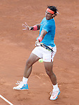 Rafael Nadal, Spain, during Madrid Open Tennis 2015 Final match.May, 10, 2015.(ALTERPHOTOS/Acero)