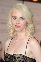 """Freya Mavor<br /> arriving for the premiere of """"The Sense of an Ending"""" at the Picturehouse Central, London.<br /> <br /> <br /> ©Ash Knotek  D3244  06/04/2017"""
