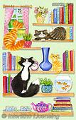 Kate, CUTE ANIMALS, LUSTIGE TIERE, ANIMALITOS DIVERTIDOS, paintings+++++,GBKM754,#ac#, EVERYDAY