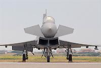 "- Italian Air Force, the new fighter aircraft Eurofighter ""Typhoon"" ....- aeronautica militare italiana, il nuovo caccia Eurofighter ""Typhoon"""