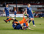 08.11.2019 Dundee v Dundee Utd: Liam Smith fouled in box for penalty