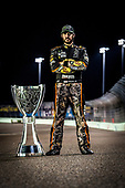 Monster Energy NASCAR Cup Series<br /> Ford EcoBoost 400<br /> Homestead-Miami Speedway, Homestead, FL USA<br /> Monday 20 November 2017<br /> Martin Truex Jr, Furniture Row Racing, Bass Pro Shops / Tracker Boats Toyota Camry celebrates winning the Monster Energy NASCAR Cup Series Championship<br /> World Copyright: John K Harrelson<br /> LAT Images