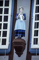 Europe/France/Bretagne/29/Finistère/Quimper : Rue Kereon, enseigne d'une vieille maison