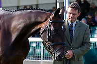 AUS-Sam Griffiths (HAPPY TIMES) 2012 GBR-Land Rover Burghley International Horse Trial: FIRST HORSE INSPECTION-ACCEPTED