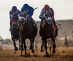 AUG 08: Weston with Drayden Van Dyke (blue cap) win the Best Pal Stakes at Del Mar Thoroughbred Club in Del Mar, California on August 02, 2020. Photo by: Evers