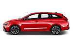 Car Driver side profile view of a 2020 Hyundai i30 Sky-Line 5 Door Wagon Side View