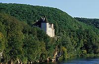 Europe/France/Midi-Pyrénées/46/Lot/Vallée de la Dordogne/Lacave: Le château de la Treyne