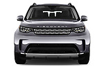 Car photography straight front view of a 2017 Land Rover Discovery HSE 5 Door SUV