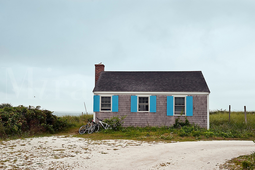 Beach cottage, Wellfleet, Cape Cod, MA, USA