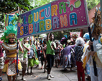 "Patients and workers from mental health hospital Nise da Silveira participates at carnival parade ""Loucura Suburbana,"" (Suburban Madness) carnival group, Rio de Janeiro, Brazil, February 04, 2016. Patients, their relatives and workers from the institute held their parade one day before the official start of Carnival."