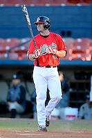 Illinois State Redbirds outfielder Eric Aguilera (33) during a game against the Long Island Blackbirds at Chain of Lakes Stadium on March 8, 2013 in Winter Haven, Florida.  Illinois State defeated Long Island 6-3.  (Mike Janes/Four Seam Images)