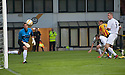 Partick's Conrad Balatoni (6) scores their second goal.