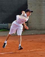 Netherlands, Rotterdam August 05, 2015, Tennis,  National Junior Championships, NJK, TV Victoria, Jim Aarts<br /> Photo: Tennisimages/Henk Koster