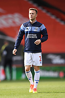 17th October 2020; Vitality Stadium, Bournemouth, Dorset, England; English Football League Championship Football, Bournemouth Athletic versus Queens Park Rangers; Todd Kane of Queens Park Rangers  warms up