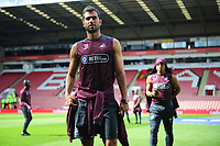 Swansea City's Jordi Amat walks the pitch prior to the Sky Bet Championship match between Sheffield United and Swansea City at Bramall Lane, Sheffield, England, UK. Saturday 04 August 2018