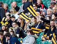 Photo: Richard Lane/Richard Lane Photography. London Wasps v Gloucester. The Stinger at Twickenham Stadium. Aviva Premiership. 19/04/2014. Wasps supporters.