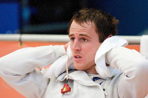13 AUG 2009 - LONDON, GBR - Nick Woodbridge (GBR) - Mens World Modern Pentathlon Championship Qualifiers (PHOTO (C) NIGEL FARROW)