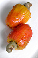 Alimentos. Frutas Caju. Foto de Manuel Lourenço.