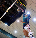 Tulane falls to Lamar in the Kathy Trosclair Memorial volleyball tournament.