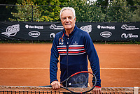 Oldenzaal, Netherlands, August 15, 2019, TC Ready, Old Stars Program, with Tom Okker <br /> Photo: Tennisimages/Henk Koster