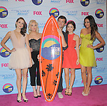Troian Bellisario, Ashley Benson , Lucy Hale and Shay Mitchell. at FOX's 2012 Teen Choice Awards held at The Gibson Ampitheatre in Universal City, California on July 22,2012                                                                               © 2012 Hollywood Press Agency