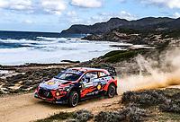 DANI SORDO<br /> Rally d'Italia 2020 Sardegna <br /> Foto Andre Lavadinho / Panoramic / Insidefoto <br /> ITALY ONLY